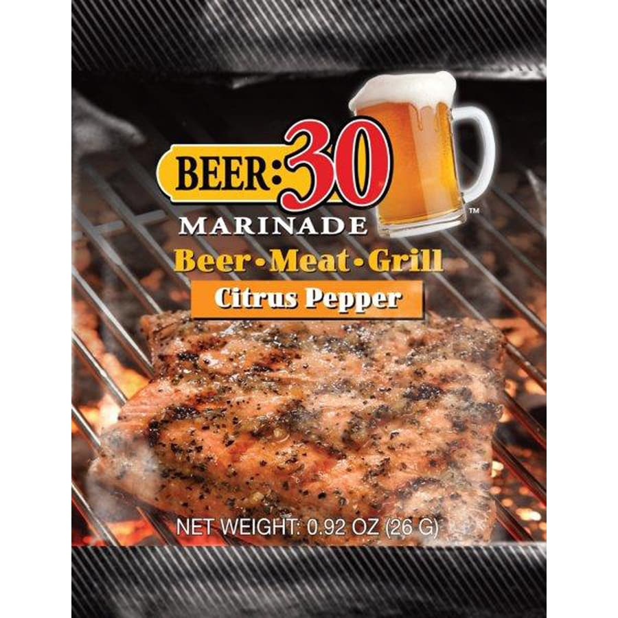 Beer: 30 Marinade 1-oz Tangy Blend Of Orange Lemon and Lime Marinade Kit