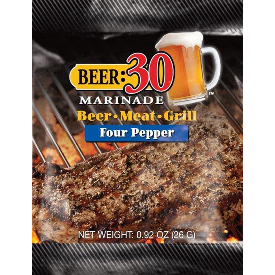 Beer: 30 Marinade 1-oz Peppercorns with Garlic Marinade Kit