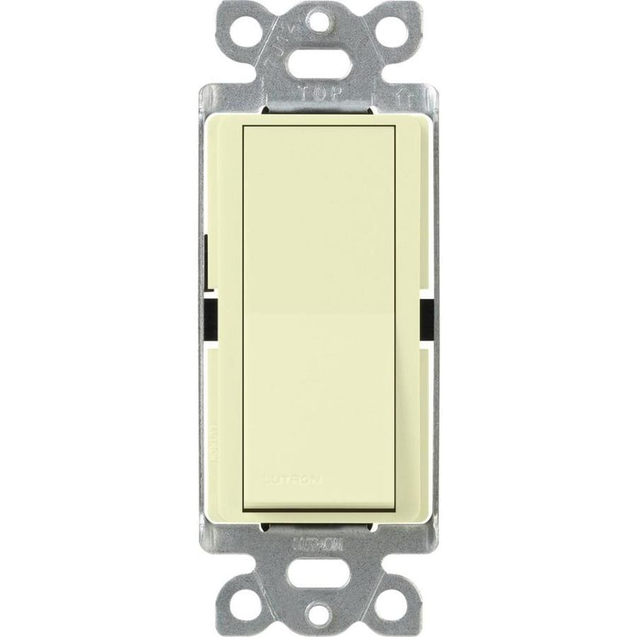 Lutron Claro 4-Way Almond Light Switch