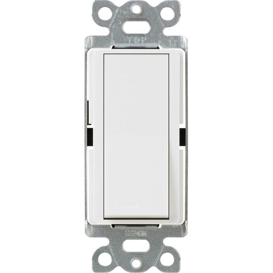 Lutron Claro 4-Way White Light Switch