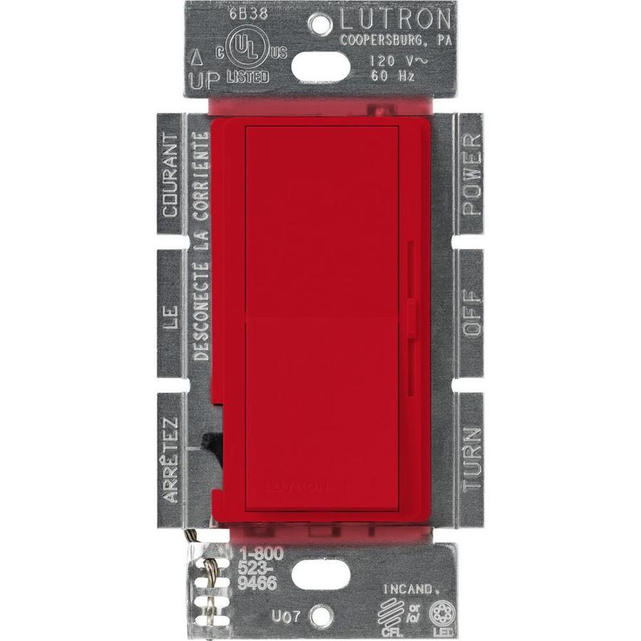 Lutron Diva 240-watt Single Pole 3-way Hot Indoor Dimmer