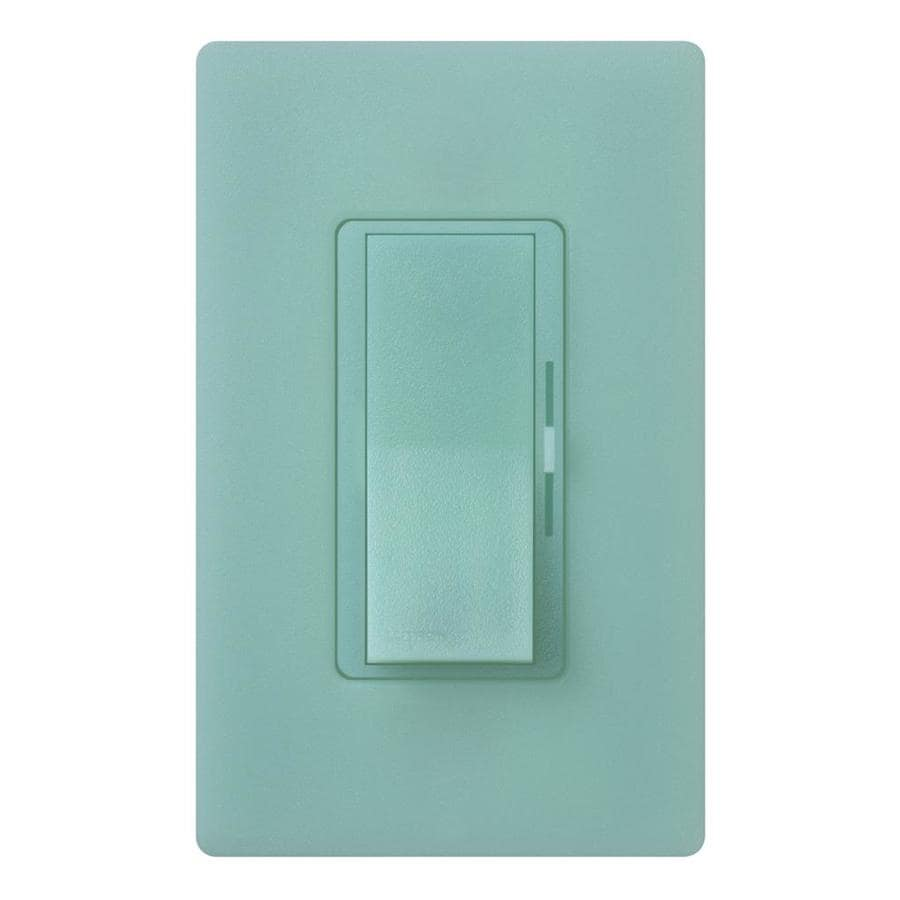 Lutron Diva 0-Switch 240-Watt Single Pole 3-Way Sea Glass Indoor (Control) Dimmer