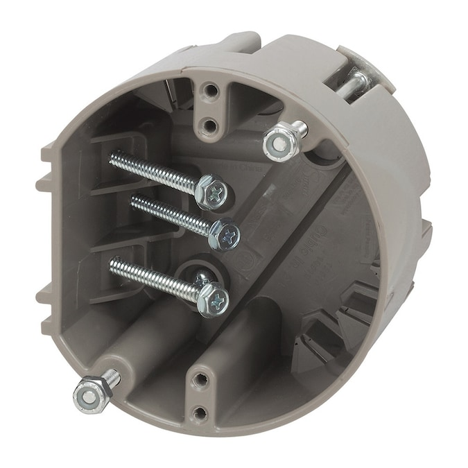 Madison Electric Products Fan And Fixture 1 Gang Gray