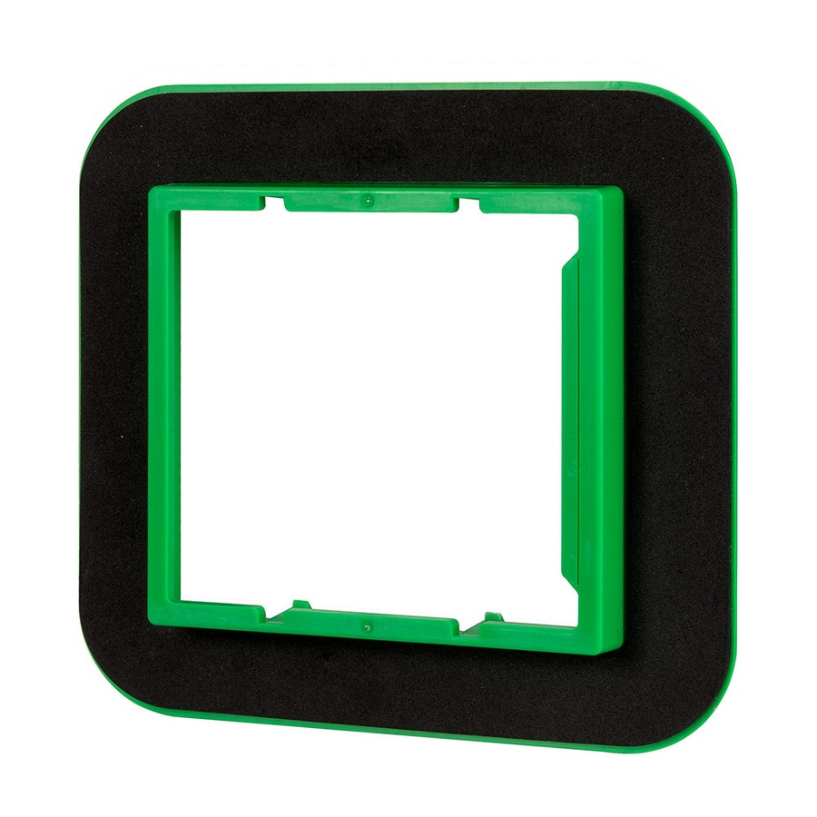 Madison Electric Products 2-Gang Square Plastic Electrical Box Cover