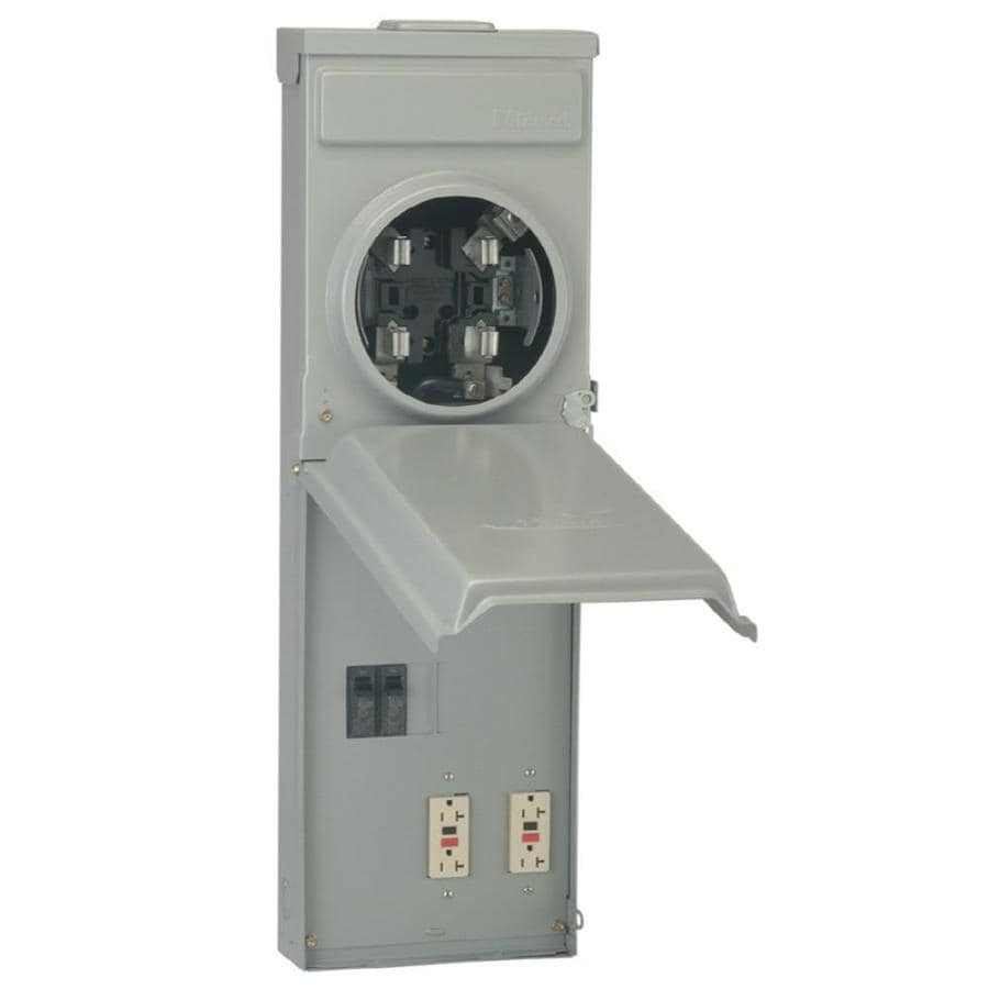 ge 100amp ringless single phase meter socket