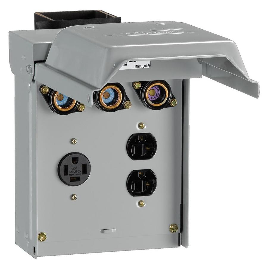 GE 125-Amp Electrical Outlet