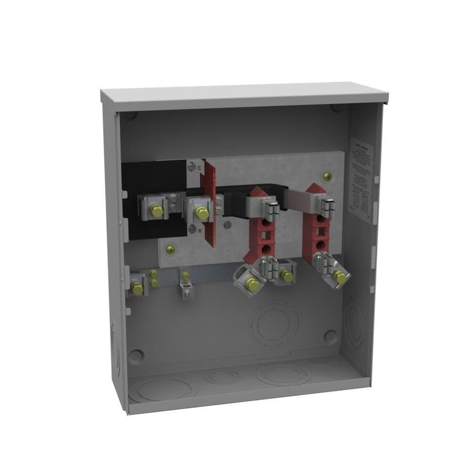 Milbank 200-Amp Ring Single Phase (120/240) Meter Socket