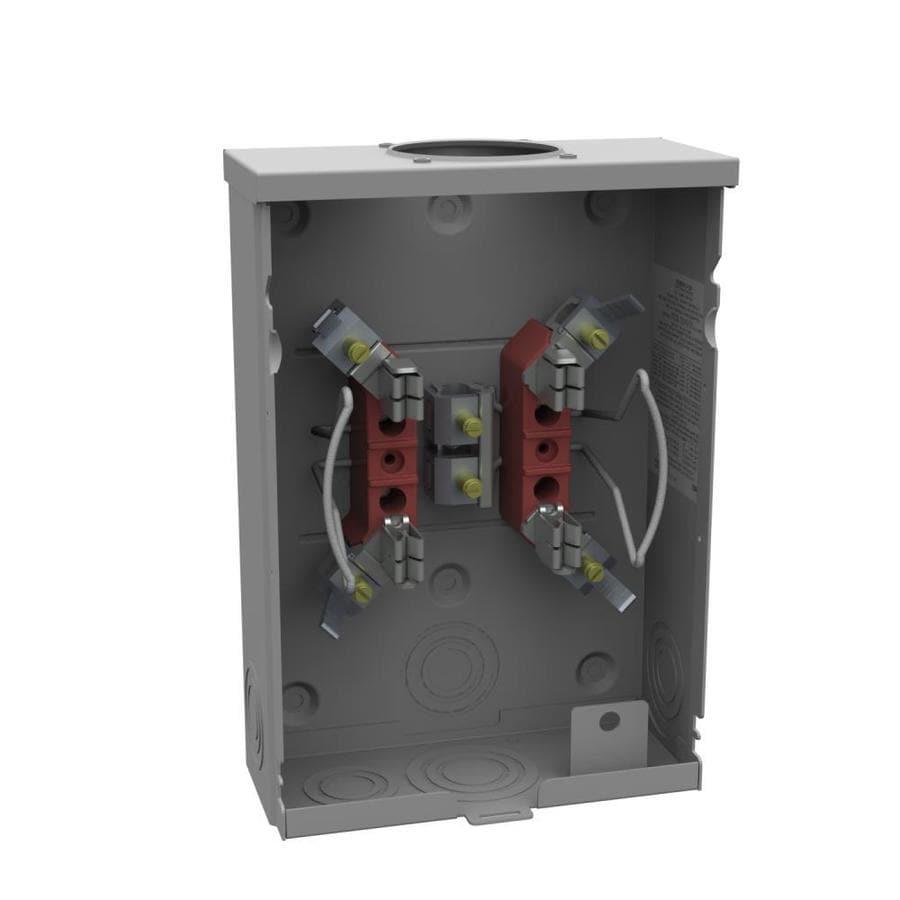 Milbank 125-Amp Ringless Single Phase (120/240) Meter Socket