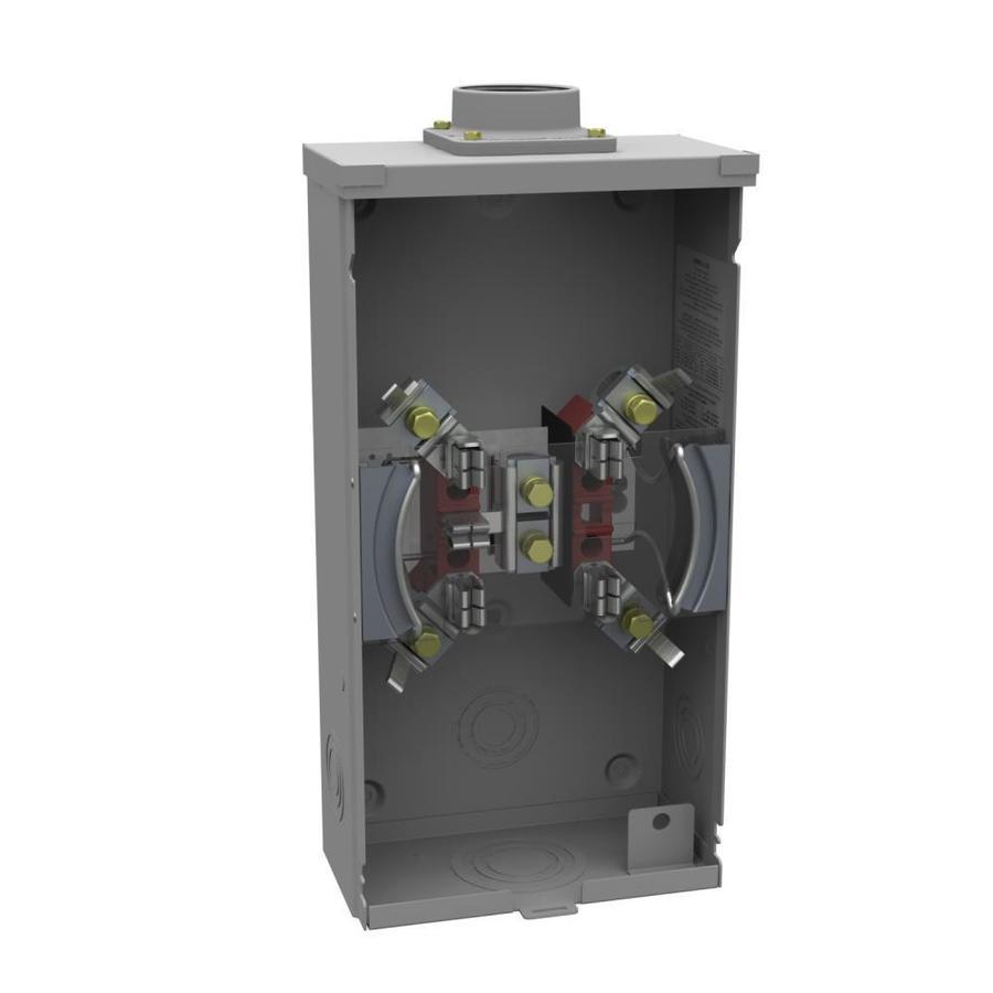 Milbank 200-Amp Ringless Single Phase (120/240) Meter Socket