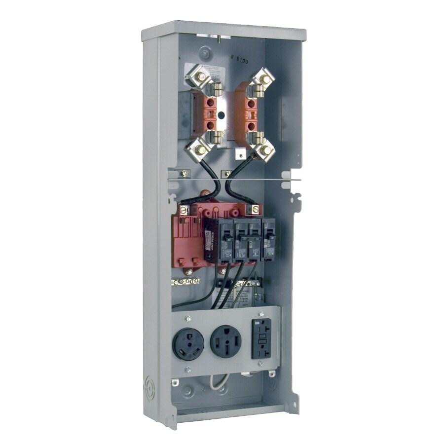 Shop Milbank RV Power Outlet Gray Steel Weatherproof Exterior New ...