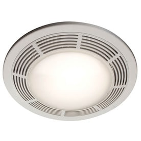 Shop bathroom exhaust fans parts at lowes nutone 35 sone 100 cfm polymeric white bathroom fan aloadofball Choice Image