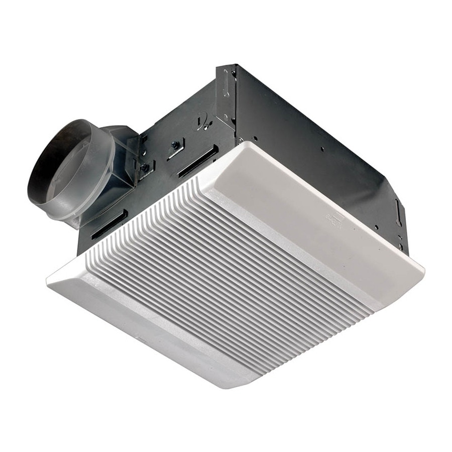 NuTone 3.5-Sone 110-CFM Polymeric White Bathroom Fan