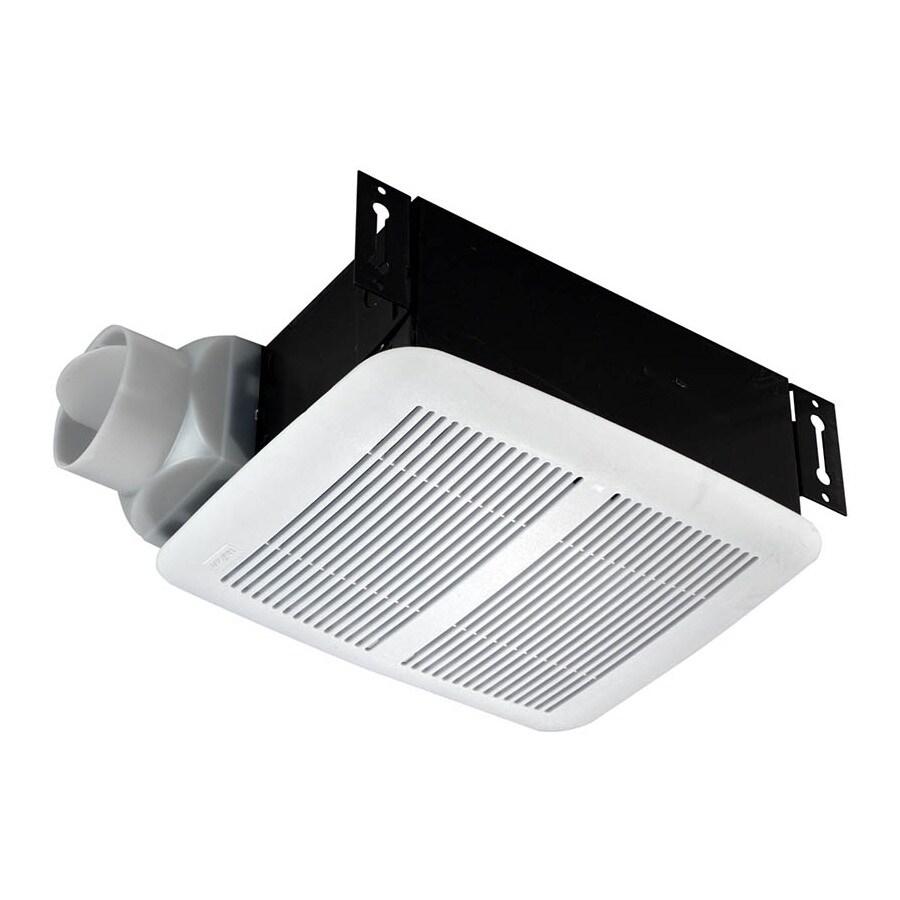 Marvellous Nutone Polymeric Bathroom Fan Shop Nutone: NuTone 2.5-Sone 80-CFM Polymeric White Bathroom Fan At