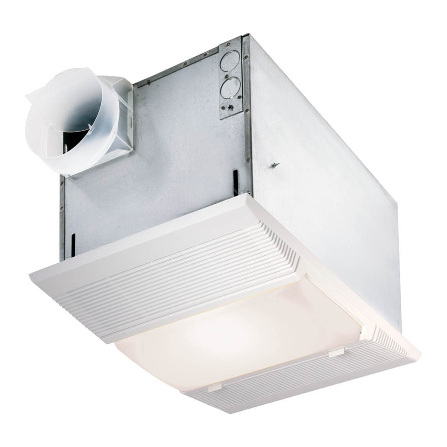 Shop nutone 1 500 watt bathroom heater at for Bathroom exhaust fan lowes