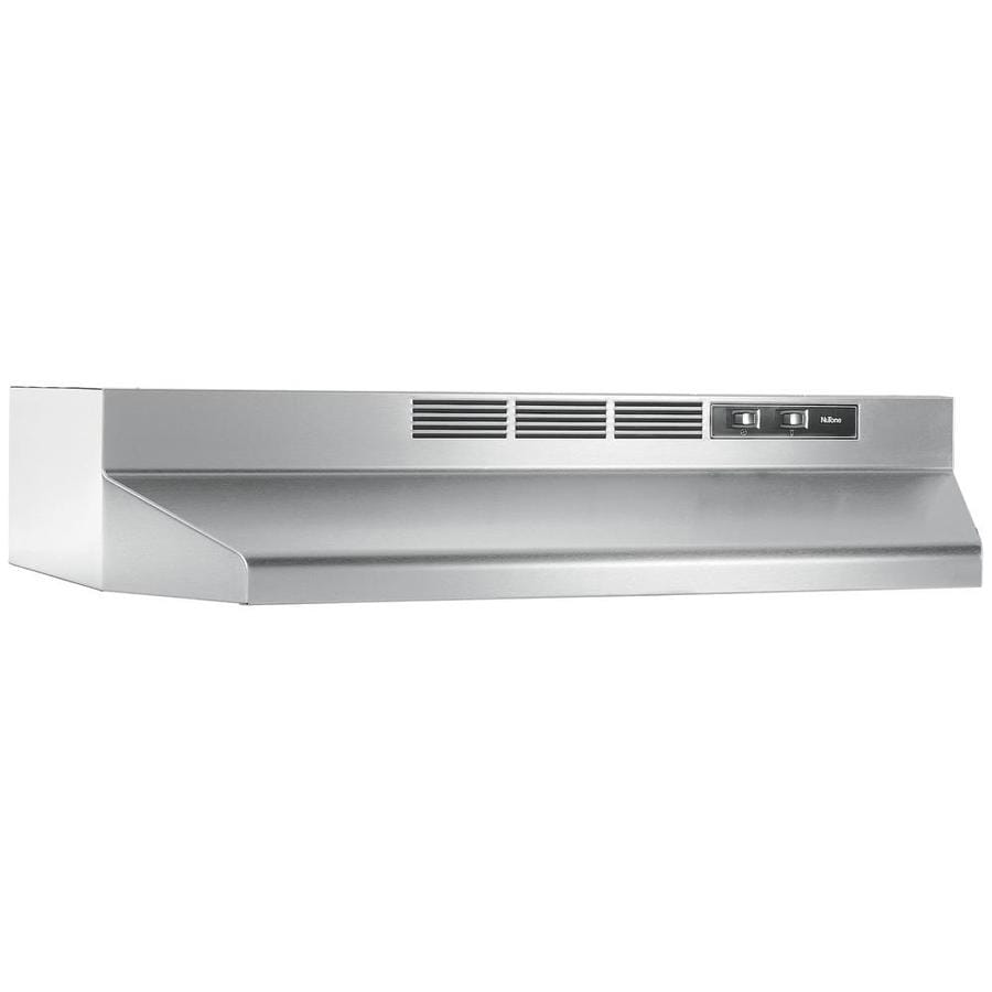 Broan Undercabinet Range Hood (Stainless) (Common: 24-in; Actual: 23.87-in)