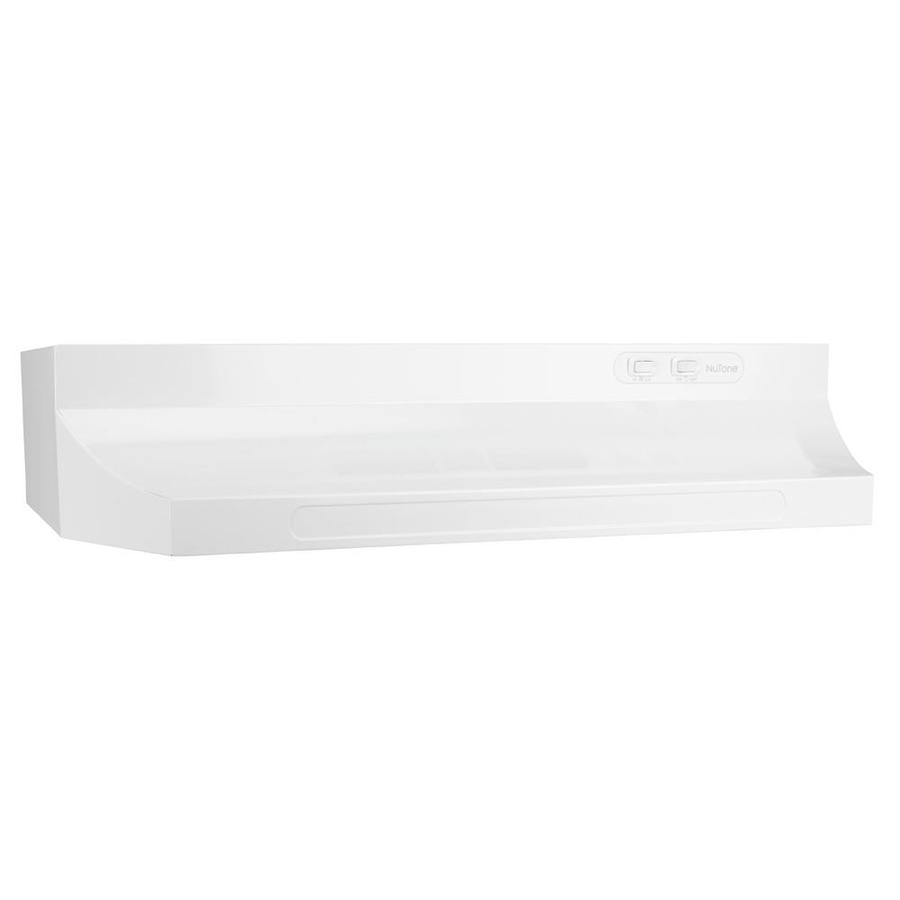 Broan 30 In Ducted White Undercabinet Range Hood Common