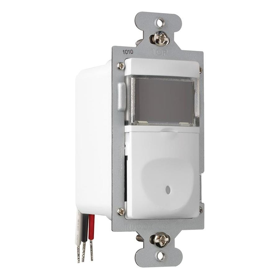 Shop Legrand Single Pole 3-Way White Push Indoor Light Switch at ...
