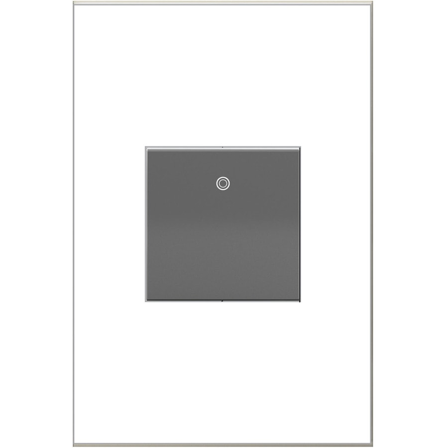 Shop Legrand 20Amp Adorne Paddle Magnesium 4Way Square Light - Adorne 4 Way Switch Lowes
