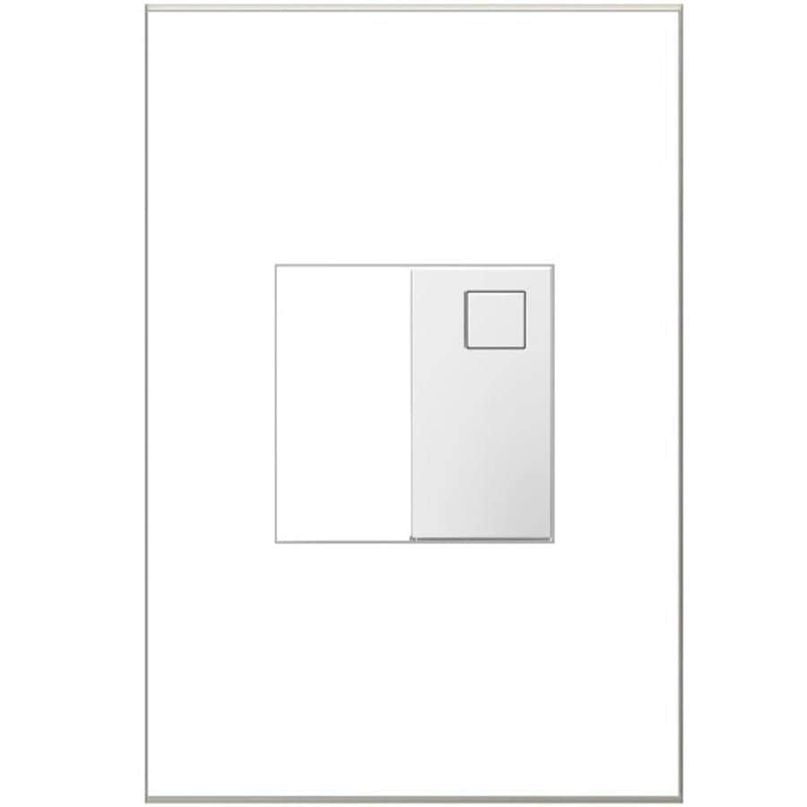 Shop legrand adorne white led night light at lowes legrand adorne white led night light outlet and wall aloadofball Images