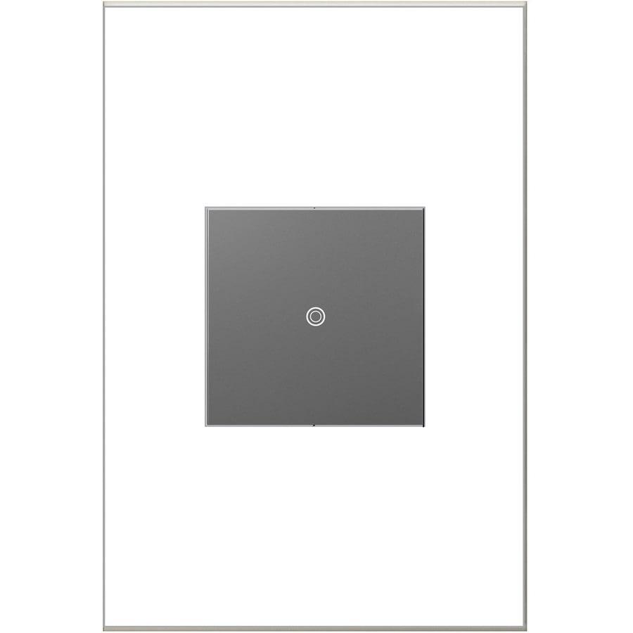 Legrand adorne sofTap 15-Amp Single Pole 3-Way Magnesium Tap Indoor Light Switch