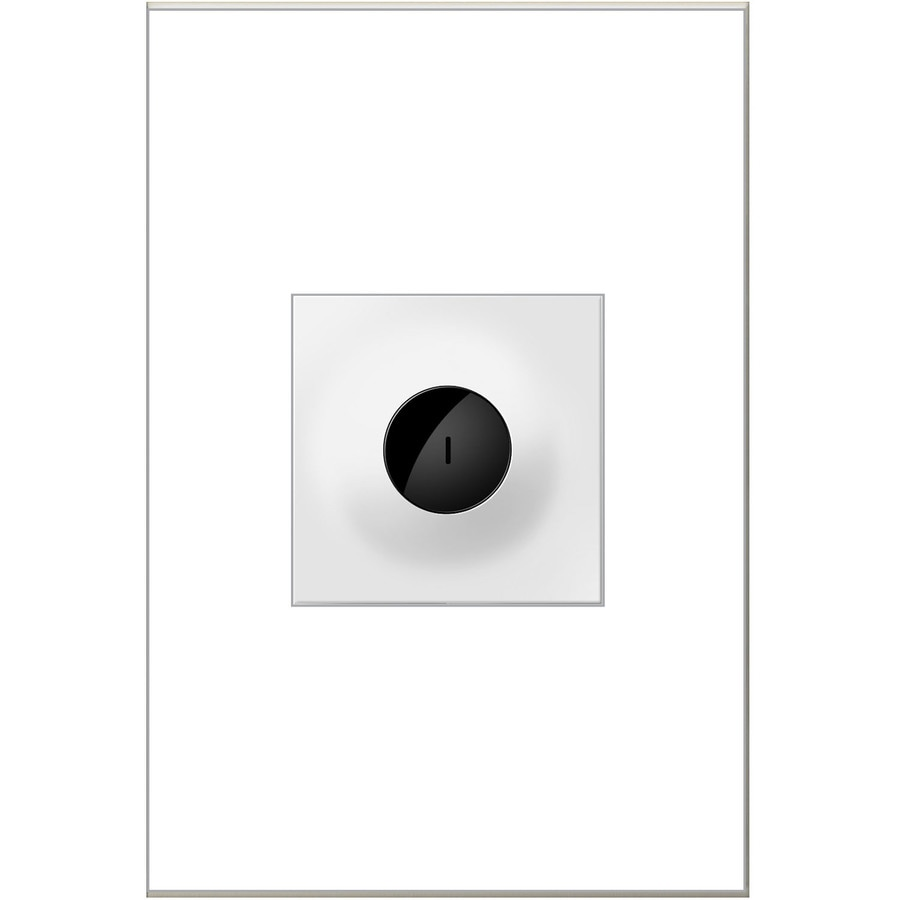 Legrand adorne Wave 15-Amp Single Pole 3-Way White Motion Indoor Light Switch