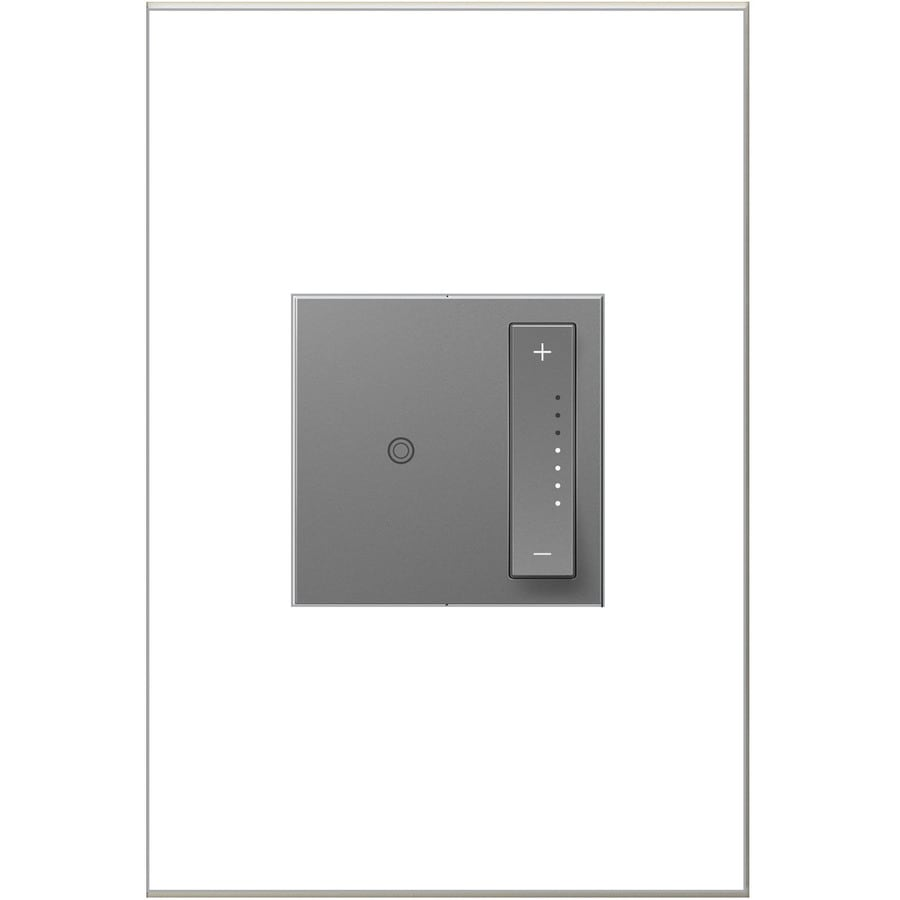 Legrand Adorne sofTap 15/20-amp Single Pole 3-way Gray Tap Indoor Dimmer