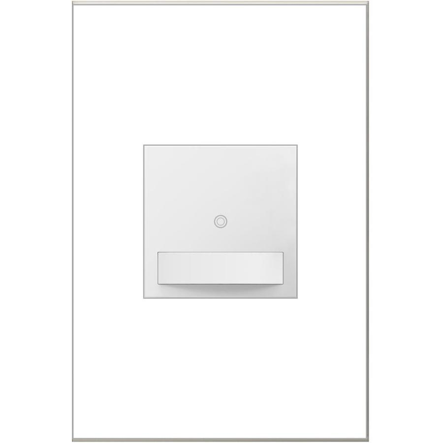 Legrand Adorne SensaSwitch 600-watt Single Pole 3-way White Motion Indoor Occupancy Sensor