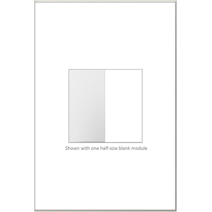 Legrand adorne Blank White Light Switch