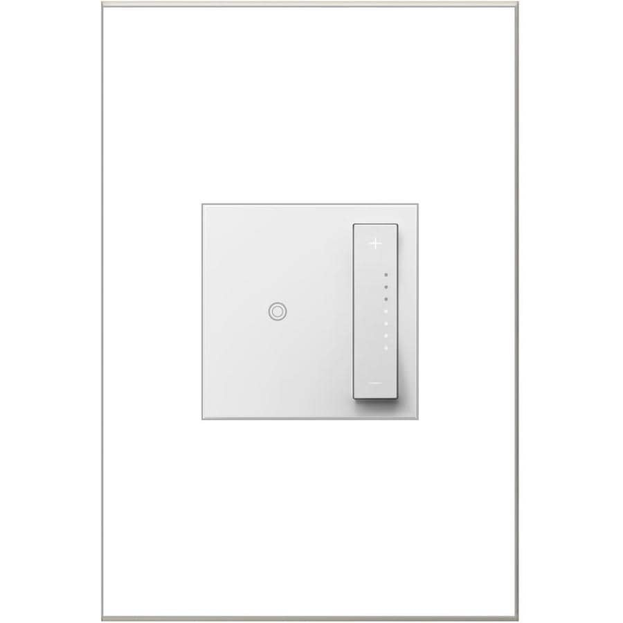 Legrand Adorne sofTap 15/20-amp Single Pole 3-way White Tap Indoor Dimmer