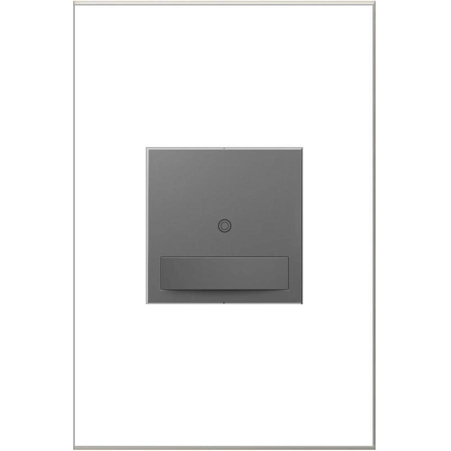 Legrand Adorne SensaSwitch 600-watt Single Pole 3-way Magnesium Motion Indoor Occupancy Sensor
