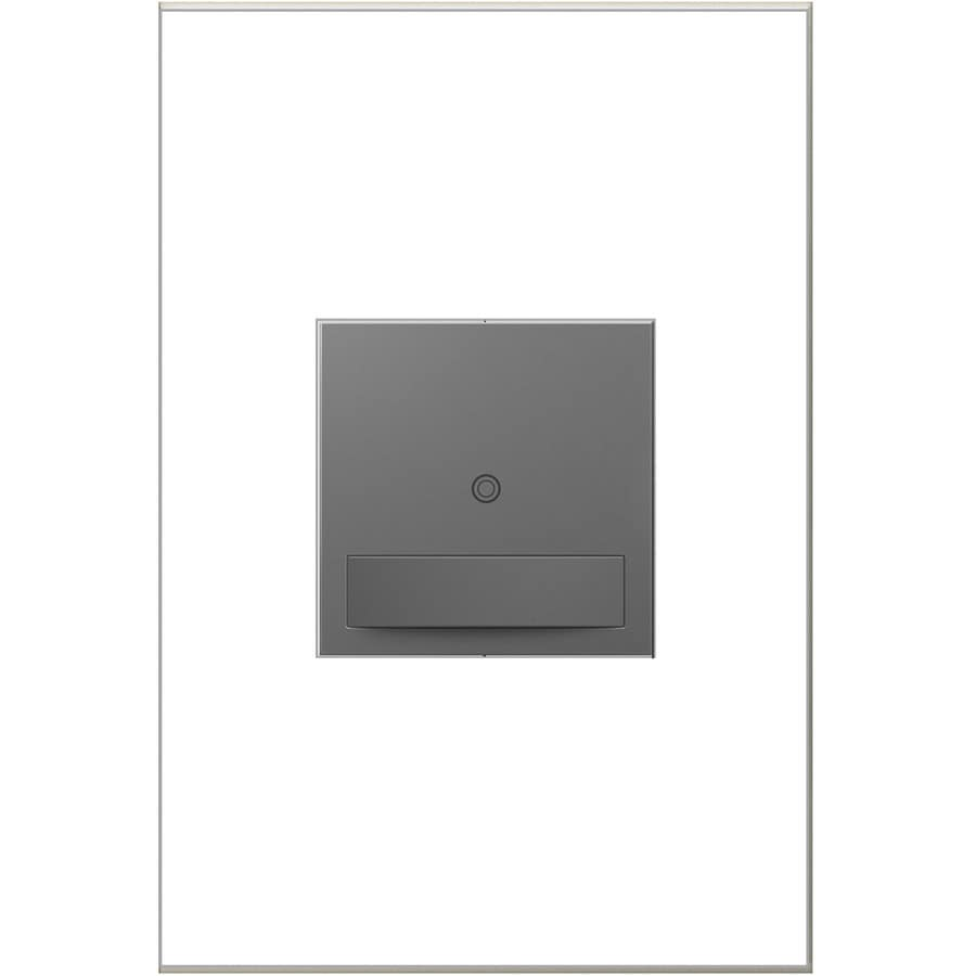 Legrand adorne SensaSwitch 600-Watt Single Pole 3-Way Magnesium Motion Indoor Vacancy Sensor