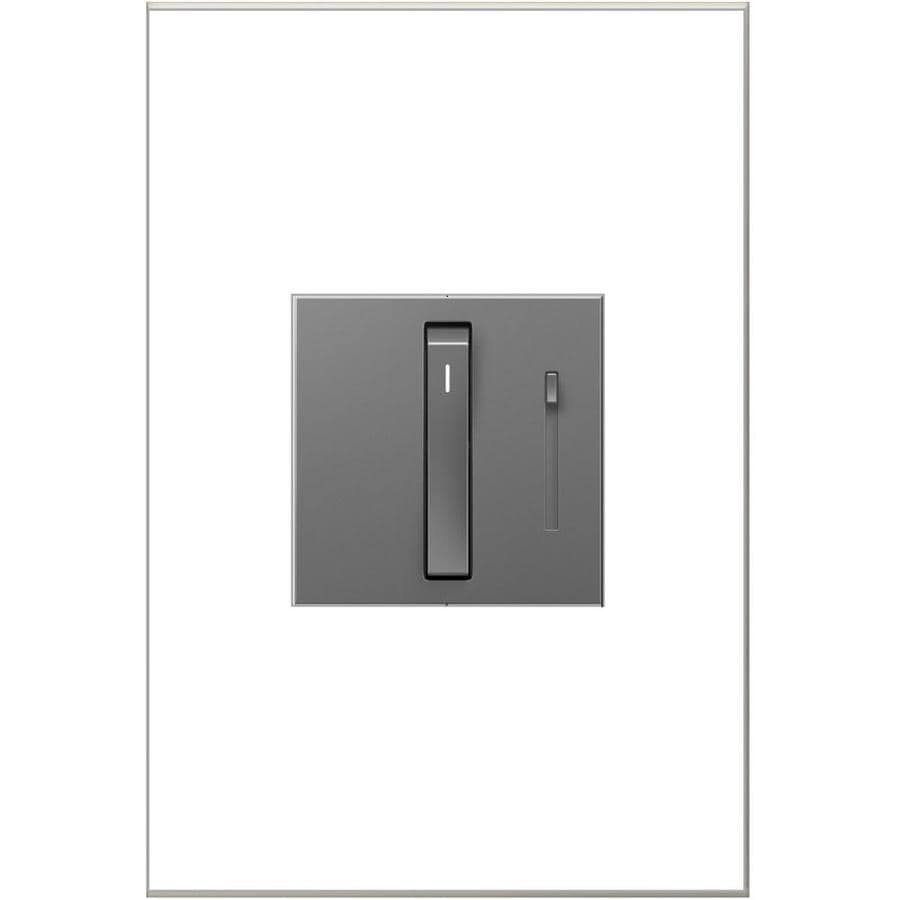 Legrand Adorne Whisper 700-watt Single Pole 3-way Magnesium Slide Indoor Dimmer