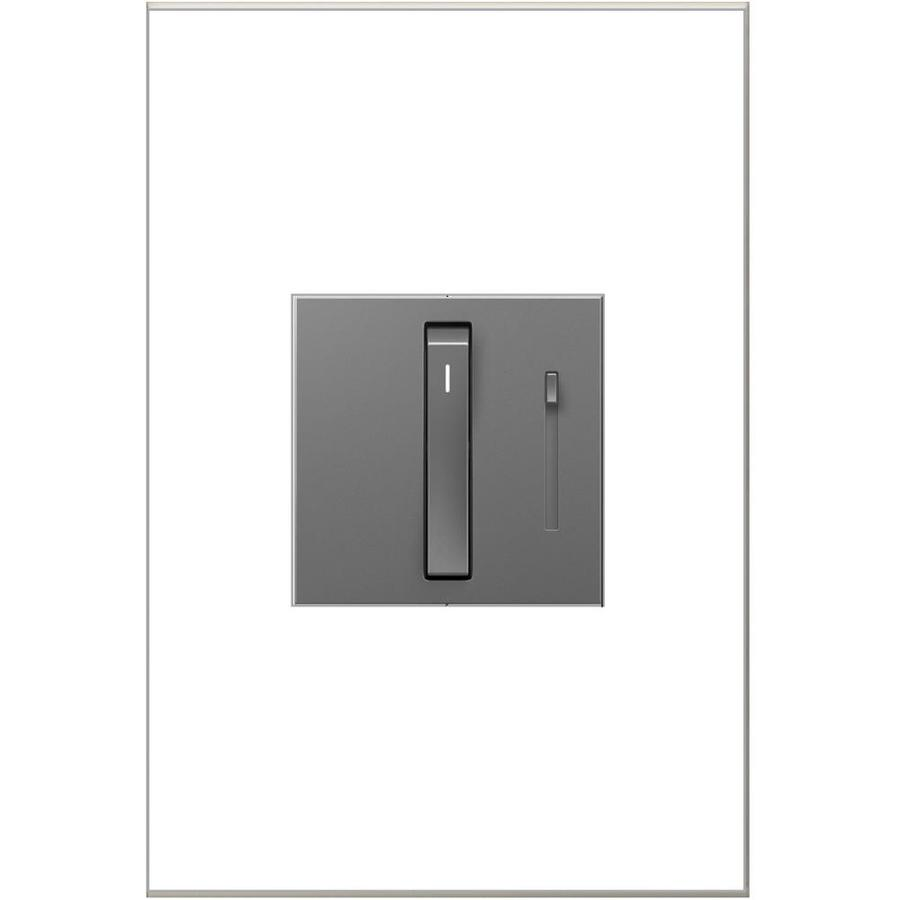 Shop Legrand adorne Whisper 700watt Single Pole 3way Magnesium