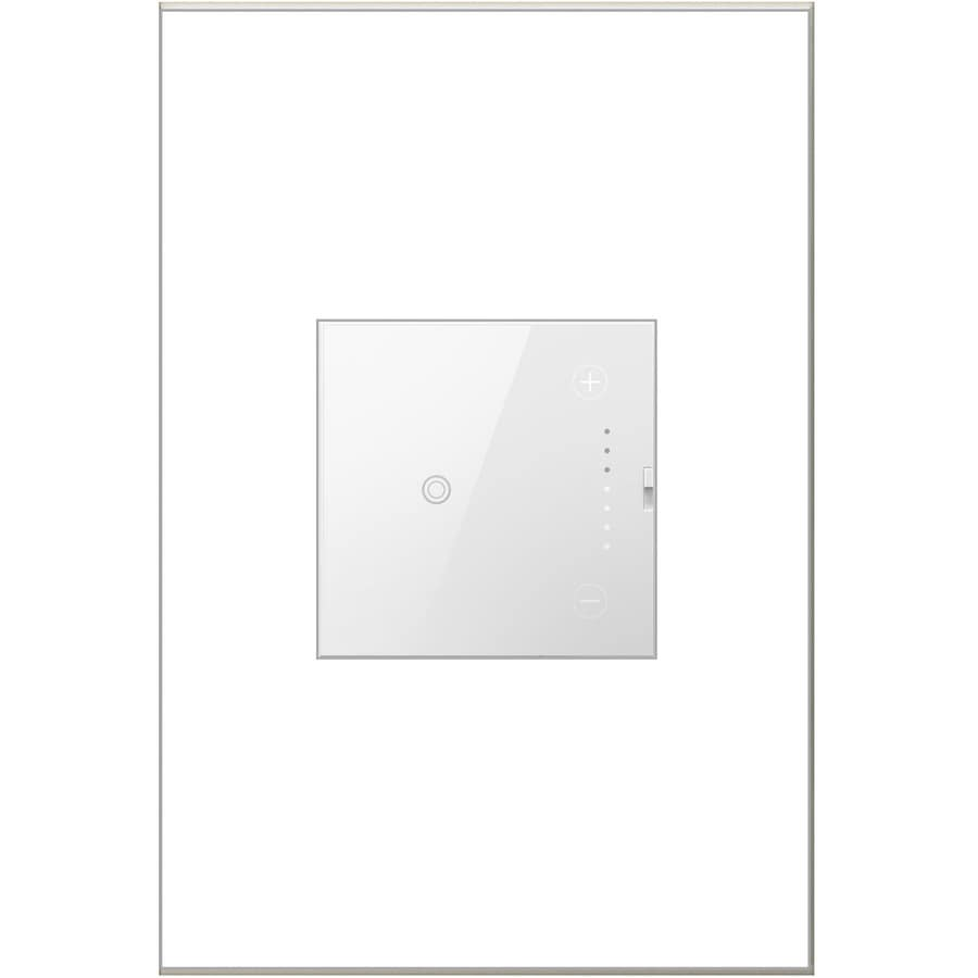 Legrand adorne Touch  15/20-Amp Single Pole 3-way White Push Indoor Dimmer