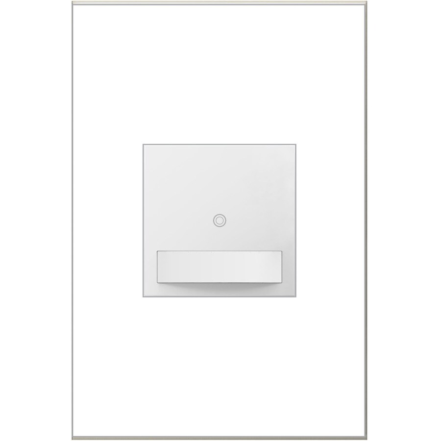 Legrand adorne SensaSwitch 600-Watt Single Pole 3-Way White Motion Indoor Vacancy Sensor