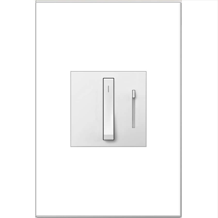 Legrand adorne Whisper  15/20-amp Single Pole 3-way Gray Touch Indoor Dimmer