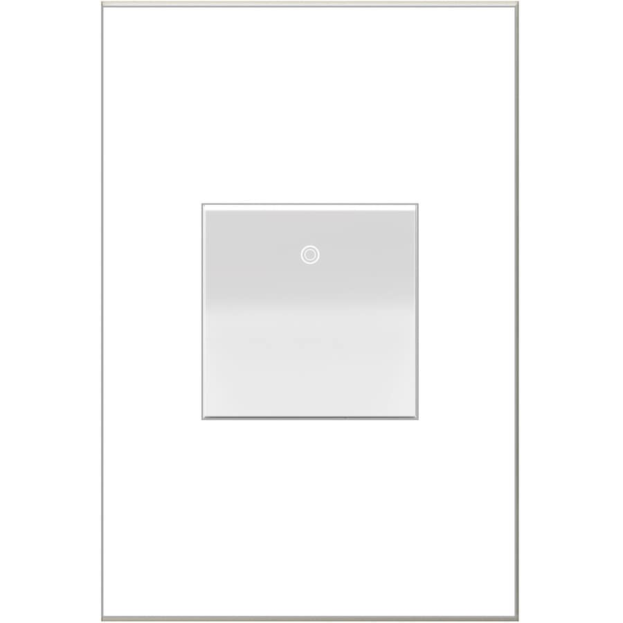 Shop Light Switches At 2 Way Flush Switch Function Legrand Adorne Paddle 15 Amp Single Pole 3 White Rocker