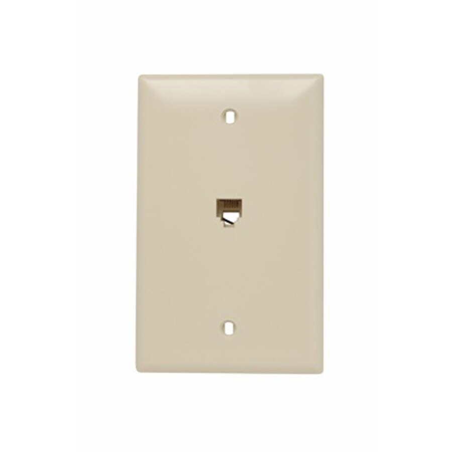 Legrand Nylon F-Type Coax Wall Jack