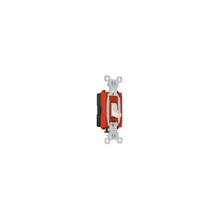 Pass & Seymour/Legrand 20-Amp Ivory Single Pole Light Switch
