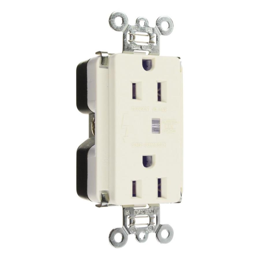 Legrand White 15 Amp Duplex Outlet Commercial At Lowes Com