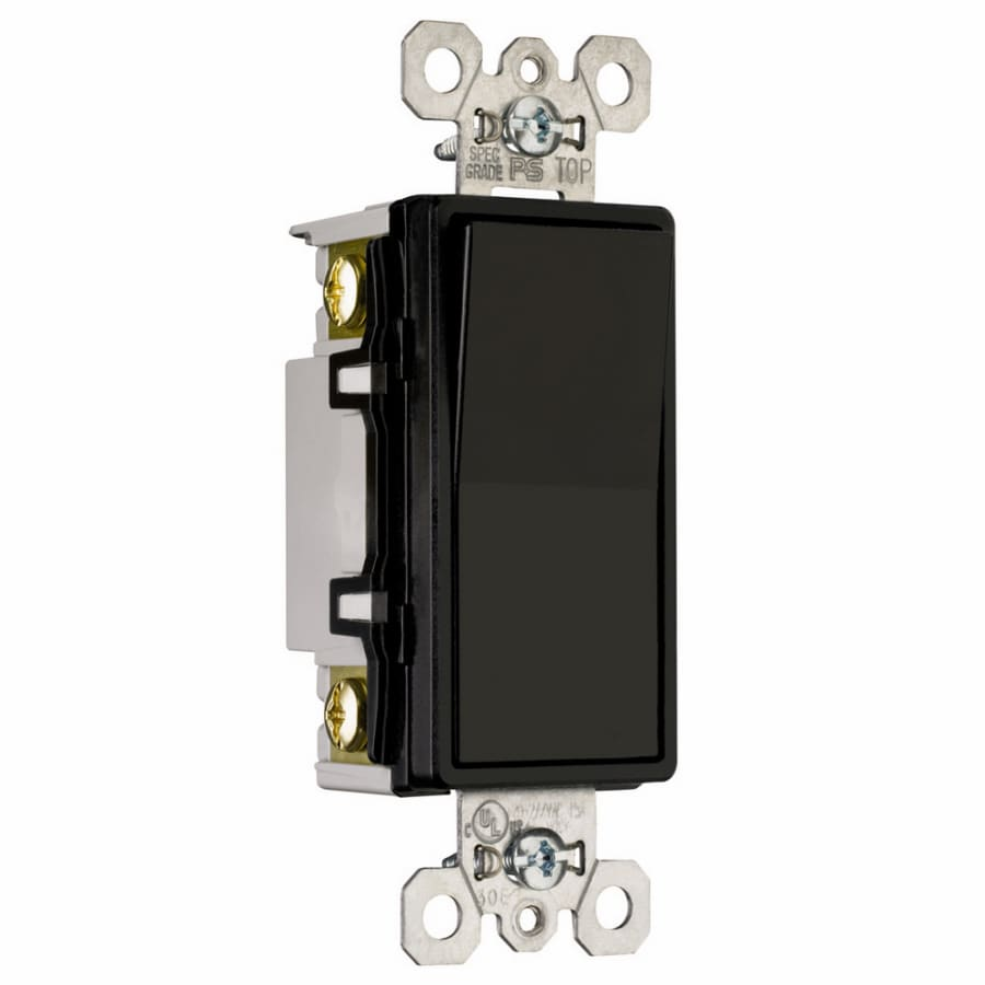 Shop Pass SeymourLegrand 4Way Black Light Switch At Lowescom - 4 Way Rocker Light Switch