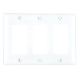 Pass Seymour Legrand 1 Gang 10 Pack White Single Toggle Midsize Wall Plate In The Wall Plates Department At Lowes Com