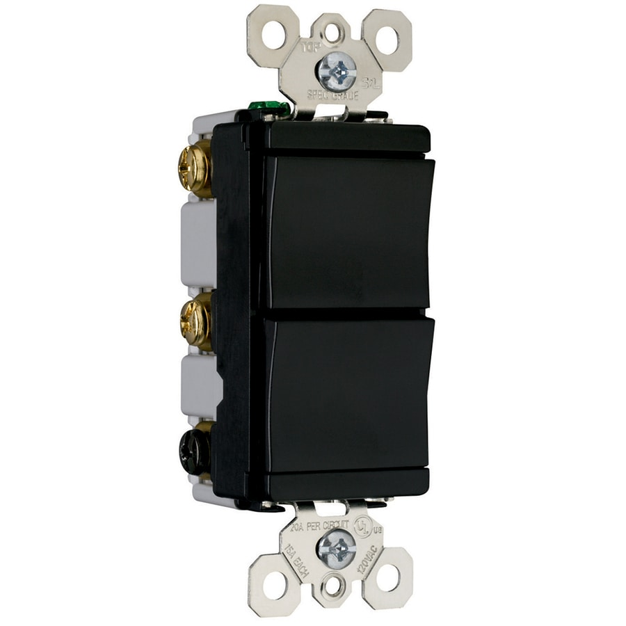 Pass & Seymour/Legrand Black Light Switch