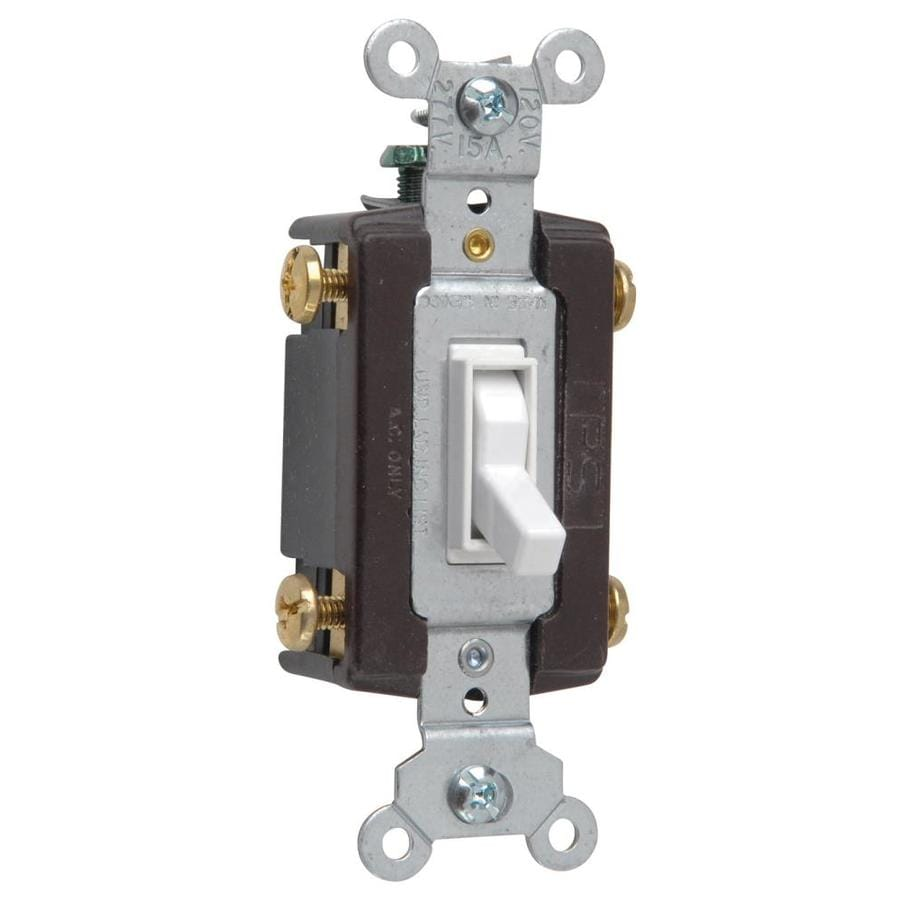 Shop Legrand 1520amp Single Pole 4way Ivory Toggle Indoor Light - 4 Way Rocker Light Switch
