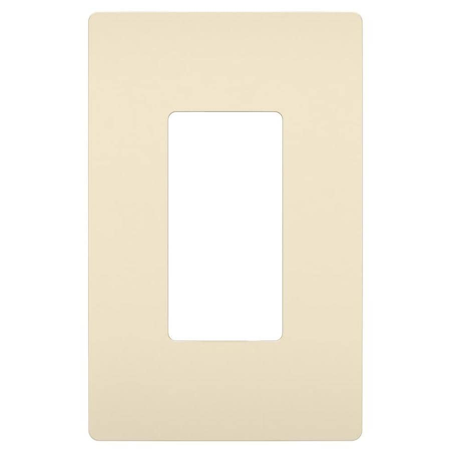 Legrand Radiant 1-Gang Light Almond Single Decorator Wall Plate