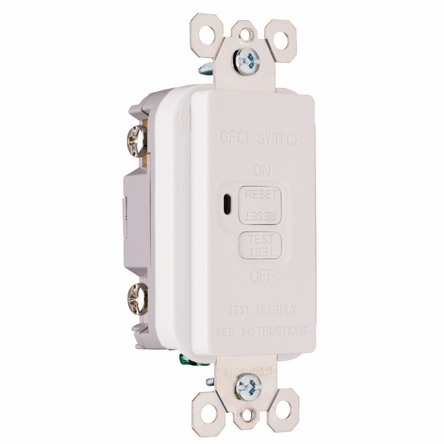 Pass & Seymour/Legrand White Electrical Outlet