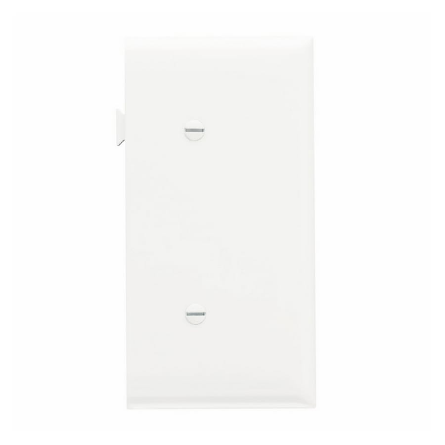 Legrand 1-Gang White Blank Wall Plate
