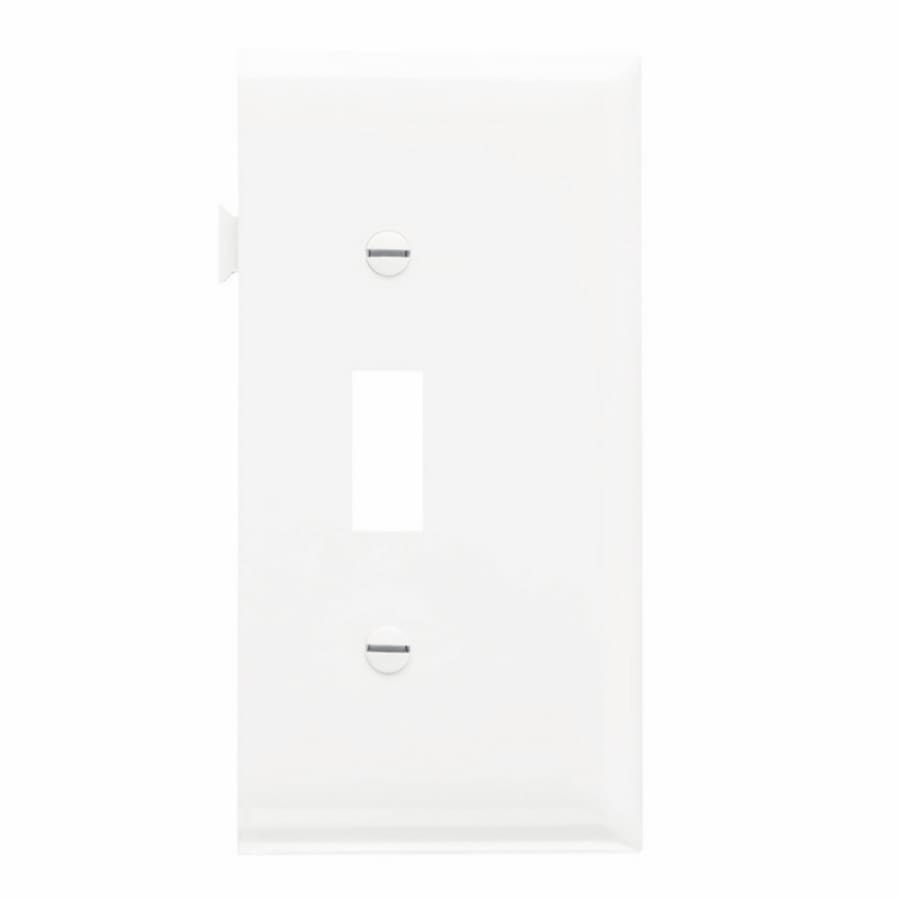 Legrand 1-Gang White Single Toggle Wall Plate