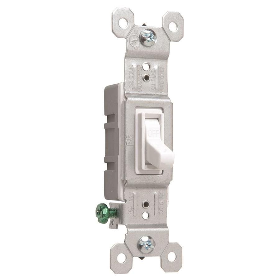 Legrand Single Pole White Light Switch
