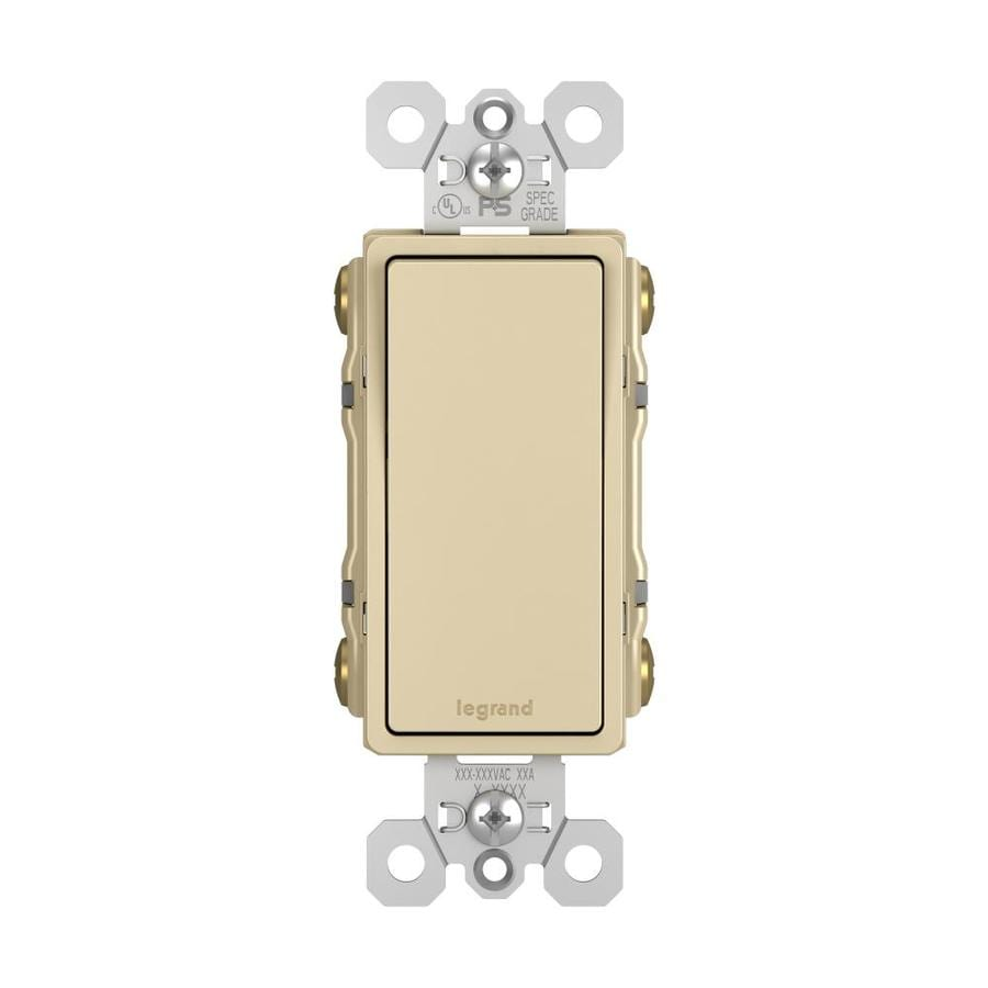 Legrand 4-Way Ivory Light Switch